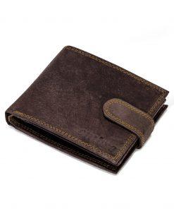 Ruda odinė vyriška piniginė internetu pigiau A087 9777-2