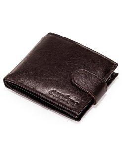 Ruda odinė vyriška piniginė internetu pigiau A089 9779-2
