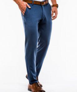Mėlynos vyriškos kelnės internetu pigiau P832 13803-1