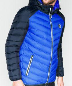 Mėlyna pavasarinė vyriška striukė internetu pigiau Ralf C366 11298-1