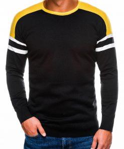 Juodas megztinis vyrams internetu pigiau E14611644-5