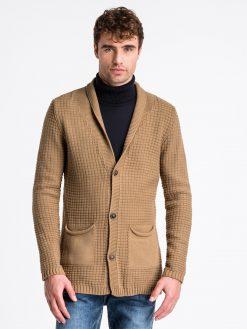 Rudas vyriškas megztinis internetu pigiau E164 13966-1