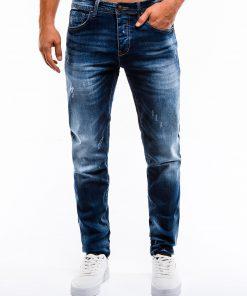 Mėlyni džinsai vyrams internetu pigiau P855 13975-2