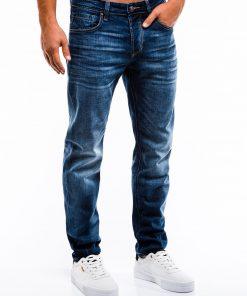 Mėlyni vyriški džinsai internetu pigiau P857 13979-1