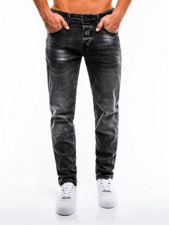 Juodi vyriški džinsai internetu pigiau P858 13981-1