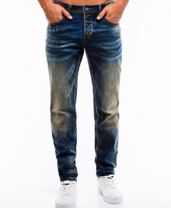 Mėlyni vyriški džinsai internetu pigiau P860 13985-1