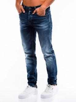 Mėlyni vyriški džinsai internetu pigiau P862 13989-6