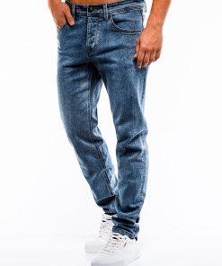 Mėlyni vyriški džinsai internetu pigiau P863 13990-4