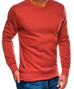Tamsiai oranžinis vyriškas džemperis internetu pigiau B978 13996-4