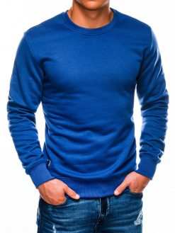 Mėlynas vyriškas džemperis internetu pigiau B978 13997-3