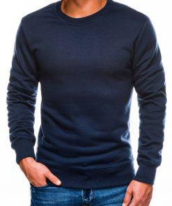 Tamsiai mėlynas vyriškas džemperis internetu pigiau B978 13999-1