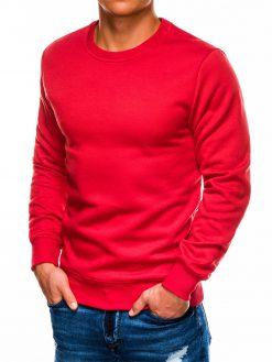 Raudonas vyriškas džemperis internetu pigiau B978 14000-1