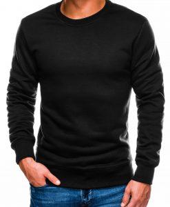 Juodas vyriškas džemperis internetu pigiau B978 14001-1