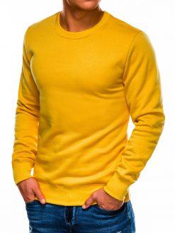Geltonas vyriškas džemperis internetu pigiau B978 14002-2