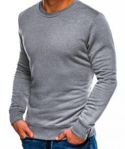 Pilkas melanžinis vyriškas džemperis internetu pigiau B978 14004-2
