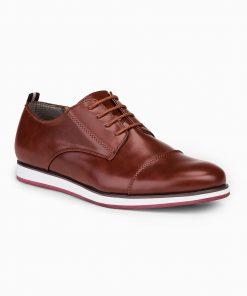 Šviesiai rudi laisvalaikio batai vyrams internetu pigiau T325 14008-3