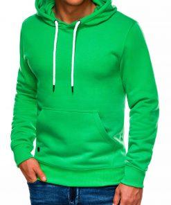 Žalias vyriškas džemperis internetu pigiau B979 14011-1