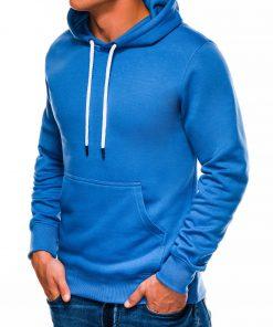 Šviesiai mėlynas vyriškas džemperis internetu pigiau B979 14014-1