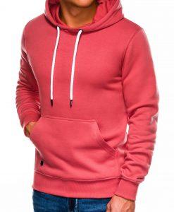Koralinis vyriškas džemperis internetu pigiau B979 14015-1