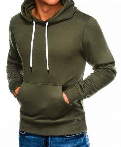 Chaki vyriškas džemperis internetu pigiau B979 14016-1