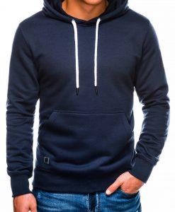 Tamsiai mėlynas vyriškas džemperis internetu pigiau B979 14017-1