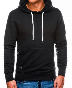 Juodas vyriškas džemperis internetu pigiau B979 14019-1