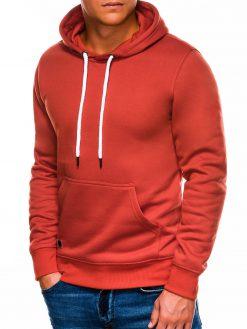 Oranžinis vyriškas džemperis internetu pigiau B979 14021-1