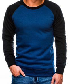 Mėlynas vyriškas džemperis internetu pigiau B980 14027-1
