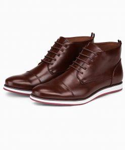 Rudi vyriski laisvalaikio batai internetu pigiau T326 14029-2