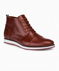 Šviesiai rudi laisvalaikio batai vyrams internetu pigiau T326 14030-1