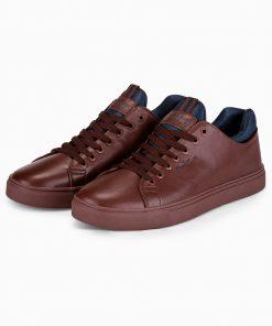 Rudi batai internetu vyrams pigiau T333 14043-5