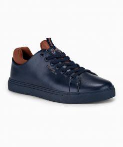 Tamsiai mėlyni laisvalaikio batai vyrams internetu pigiau T333 14044-3