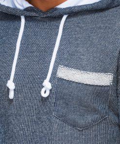 Vyriskas dzemperis su kapisonu internetu pigiau B963 14046-5