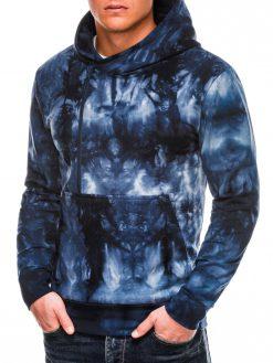 Stilingas vyriškas džemperis su gobtuvu internetu pigiau B1008 14062-1