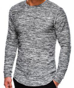 Juodas vyriškas džemperis internetu pigiau B1011 14064-1