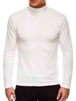 Rusvas vienspalvis vyriškas megztinisgolfas internetu pigiau B1009 14065-1