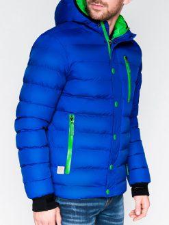 Mėlyna žieminė vyriška striukė internetu pigiau Activ C124 864-1