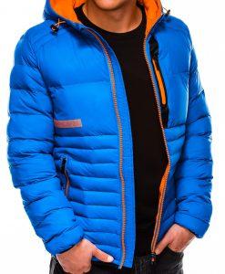 Mėlyna rudeninė-pavasarinė vyriška striukė internetu pigiau Andro C372 11225-1