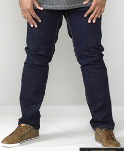 Didelių dydžių džinsai vyrams internetu pigiau CEDRIC KS15497-1