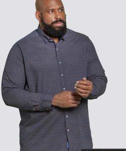Didelių dydžių vyriški marškiniai ilgomis rankovėmis internetu pigiauBABWORTHKS10367-1
