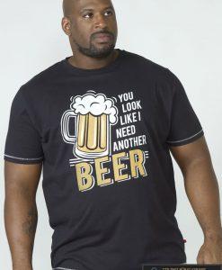Juodididelių dydžių vyriški marškinėliai internetu pigiau Murray KS60144-1