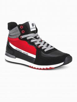 Juodi sneakers batai vyrams internetu pigiau T327 14094-2