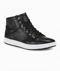 Juodi laisvalaikio batai vyrams internetu pigiau T328 14097-2