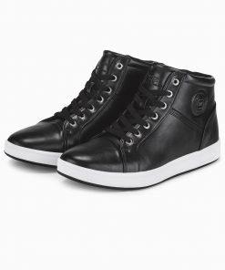 Juodi laisvalaikio vyriski batai internetu pigiau T328 14097-4