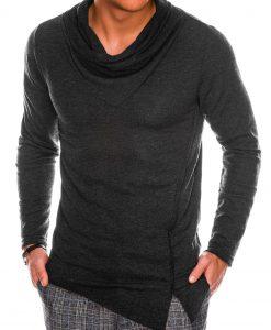 Tamsiai pilkas vyriškas megztinis internetu pigiau B1010 14100-1