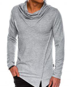 Pilkas vyriškas megztinis internetu pigiau B1010 14102-1