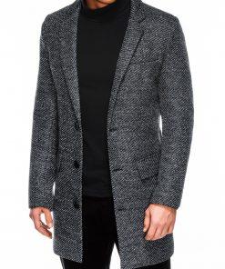 Pilkas rudeninis vyriskas paltas internetu pigiau C431 14103-5
