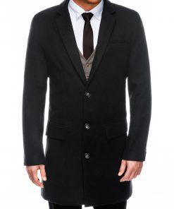 Juodas paltas vyrams internetu pigiau C432 14104-4