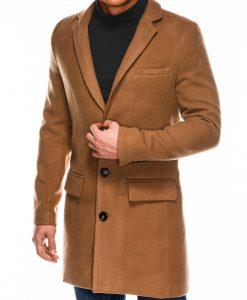 Rudas rudeninis vyriškas paltas internetu pigiau C432 14107-4