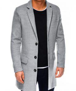 Pilkas rudeninis vyriskas paltas internetu pigiau C432 14108-4